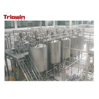 China Small Scale Dairy Processing Line Cheese Production Equipment Fermentation Tank on sale