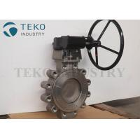 China High Pressure Concentric Butterfly Valve Carbon Steel Body Fire Safe Seat on sale