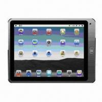 China 8-inch Capacitive Screen MID, 5-point Touch, Metal Shell Case on sale