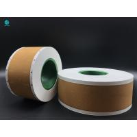 58mm Tobacco Filter Paper , Custom Logo Printed Cork Natural Permeability Tipping Paper Manufactures