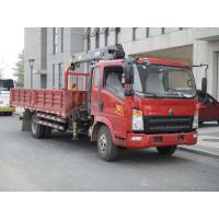 Light Duty Trucks Lorry Loading Crane Cummins Engine 11990 Kg Manufactures