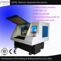 2-Station CNC Drilling And Milling Machine Pcb Routing Machine Manufactures