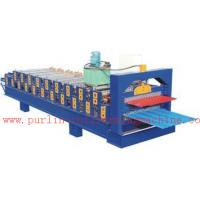 PLC Control Automatic Steel Roof Panel Roll Forming Machine Double Layer High Efficiency Manufactures