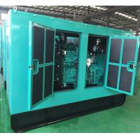 tropicalized radiator ship marine diesel generator cummins engine 80kva ATS with Silent enclosure Manufactures