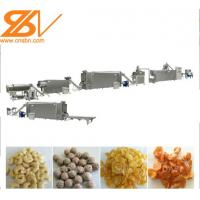 Professional Corn Flakes Processing Line Customized Capacity  1 Year Warranty Manufactures