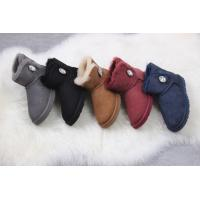 ugg female shoes UGG 1003889 low tube crystal buckle fur one Manufactures
