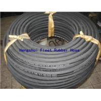 China steel wire braid hydraulic hose         rubber hose/tube/pipe      wire braid reinforcement hydralic pipes   wholesale on sale