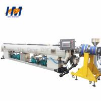 Double Screw Double Wall Corrugated Pipe Extrusion Line ISO / CE Certified Manufactures