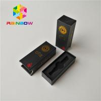 Custom Size Vape Cartridge Packaging Boxes Cbd Atomizer Kit Matte Surface Finish Manufactures