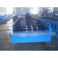 Big Wave Corrugated Roof Panel Sheet Roll Forming Machine Galvanised 3.5KW Manufactures