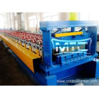 Steel Deck Floor Roll Forming Machine MXM-5A Manufactures