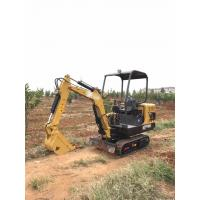 1800Kg Mini Excavator With Open Cabin Manufactures