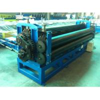 China Colour Coated Steel Barrel Type Roof Panel Roll Forming Machine High Speed Low Noise on sale