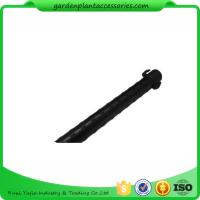 8mm Green Steel Garden Stakes , Metal Garden Flowers Stakes PE Plastic Coated Manufactures