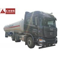 China Gas Phase Valve LPG Tank Trailer Large Volume For Efficient Gas Transportation on sale