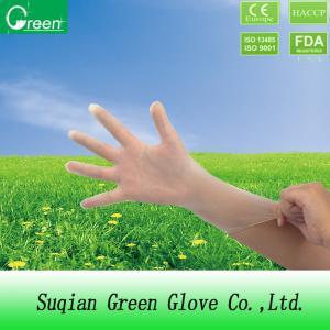 Vinyl Polyvinyl Chloride Disposable Medical Gloves Powder Free / Powdered Manufactures