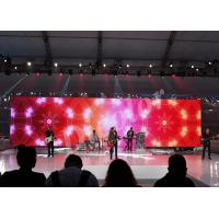 Flexible Stage Background Led Screen IP65 / IP54 Waterproof Led Module For TV Station Manufactures