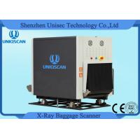 Dual View Security Baggage Scanner 600*400mm Opening Size for Airport , Station Manufactures