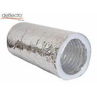 Silenced Insulated Flexible Air Duct Hose 100mm - 300mm Diameter For Air Conditioning Manufactures
