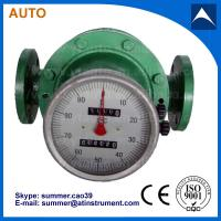 China fuel oil oval gear flow meter 3'' 4'' for fuel delivery on sale