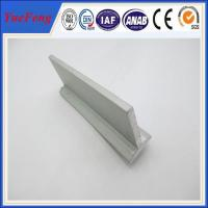 extruded t-shape aluminium profile,anodized aluminum profile, aluminium t profile in china Manufactures