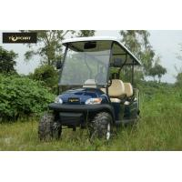 Dynamic Type 6 Seater Golf Cart Big Round Smooth Driving Safety for Mountain Pass Manufactures