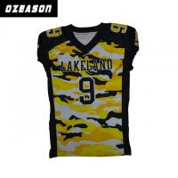 China V Neck dry-fit bright-coloured  Sublimated Football Jerseys  good design on sale