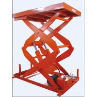warehouse cargo conveying stationary scissor lift Manufactures