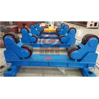 20T Pipe Welding Rotator with Manual Travel Bogie , One Motorized unit and Three Idle Units Manufactures