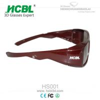 Linear Polarized 3D Cinema Glasses Manufactures