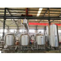 Commercial / Home Beer Brewing Equipment , Beer Production Machine With Stainless Steel Tank Manufactures