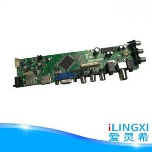 China lcd  tv mainboard  with USB/VGA/H  DMI on sale