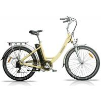 China Aluminium Alloy Frame City Electric Bicycle / E - bike with Large Range on sale