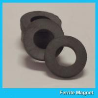 Buy cheap Y35 Grade Permanent Ferrite Ring Magnet SrO / Bao And Fe2O3 Material from wholesalers
