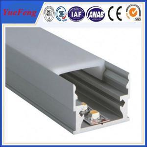 6000 series anodized aluminum extrusion price,aluminium profile for led lamps tube Manufactures