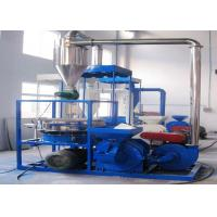 22kw Waste Plastic Recycling Machine Eco - Friendly Small Size For PET / PVC Manufactures