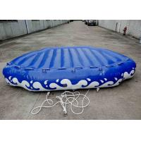 Quality 4 Passangers Inflatable Water Ski Tubes Towable Water Surfboard Platform For Beach for sale