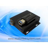Quality 1Port compact USB3.0 fiber optical extender for 5GB 3.0 usb over 1 sm/mm fiber for sale