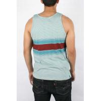 China Graphic Casual Tops For Men , Tagless Sleeveless Relaxed With Pattern on sale