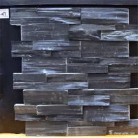 Slate Culture Stone Black Color Slate Stone Wall Cladding Panels Manufactures