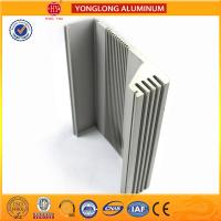 Heat Insulating Aluminum Section Materials For Window Frame Silver Color Manufactures