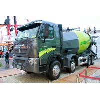 12m³ Cubage Mixer Concrete Truck With ZF8118 Steering Gear Box Manufactures