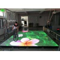 China P4.81 3D Outdoor RGB LED Video Dance Floor , LED Starlit Starlight Dance Floor on sale