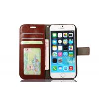Side Open Custom Wallet Cell Phone Case , Horse Magnetic Leather Case Apple Iphone8 Manufactures