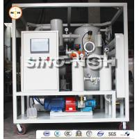Automatic Double Stage Transformer Oil Filtration Machine With PLC Control Fully Touch Screen Manufactures