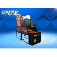 China Normal Coin Operated Arcade Basketball Game Machine Metal Cabinet Firm And Durable on sale