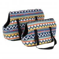 Fashionable Canvas Tote Pet Carrier Portable 2 Size Available For Pets Rest Manufactures