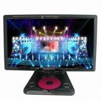 China Portable DVD Player with 18.5 inch LED High Definition Screen, View of Screen Free Angle on sale