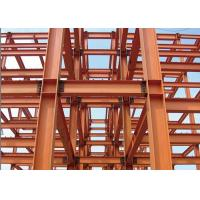 China AWS D1.1 Steel Frame Commercial Building , Recycled Pre Manufactured Steel Buildings on sale