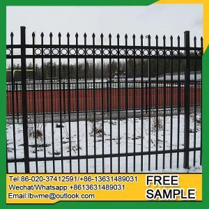 BattleCreek iron craft aluminum fence 6